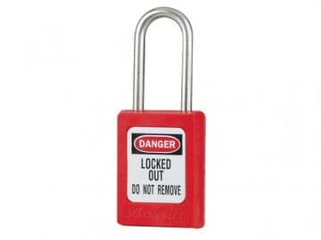 Lockout Padlock  35mm Body & 4.76mm Stainless Steel Shackle